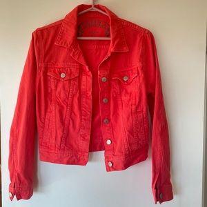 Talula Pink denim jacket size medium